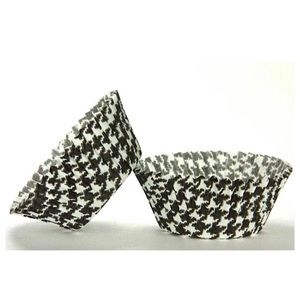 Two 50 Count HOUNDSTOOTH Cupcake Liner Baking Cups